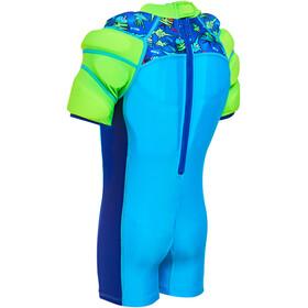 Zoggs Sea Saw Watervleugels Floatsuit Jongens, turquoise/blauw
